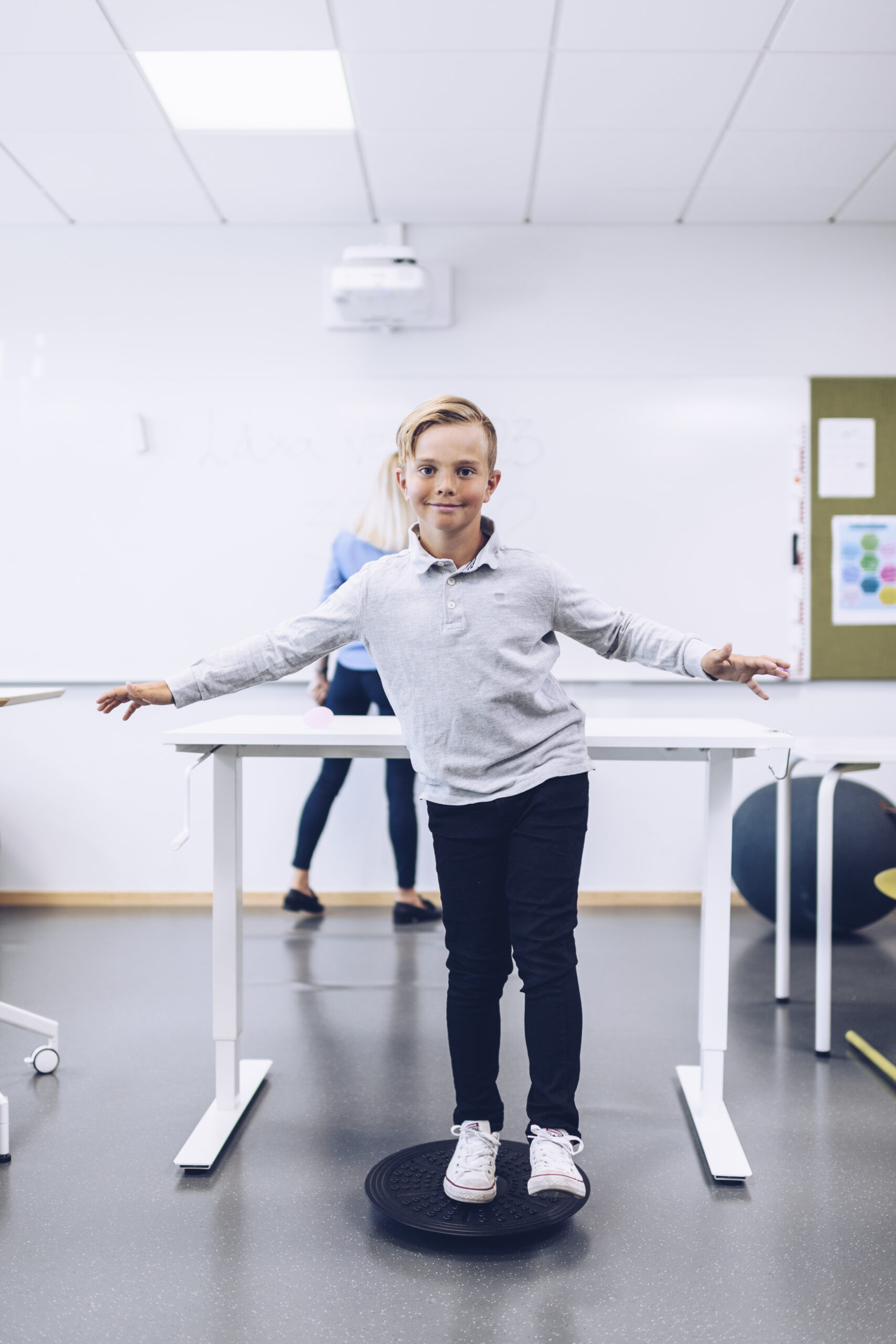2018-05-29 Växjö Jobout produkter i skolmiljö. Foto: Jonas Ljungdahl